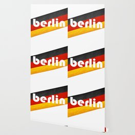 Berlin, with flag colors Wallpaper