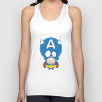 captain silva Tank Tops featuring Captain by John O'Connor
