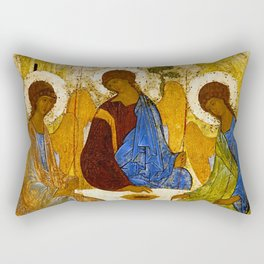 "Andrey Rublev , "" The Trinity "" Rectangular Pillow"