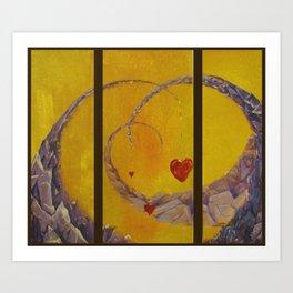 Armadillo Tails Art Print