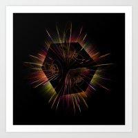 Light show 4 Art Print