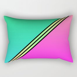 Color Swaths  Rectangular Pillow