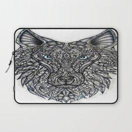 Biomechanical Wolf Laptop Sleeve
