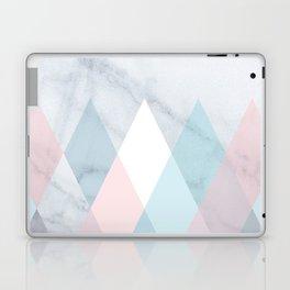 Diamond Peaks on Marble Laptop & iPad Skin