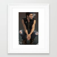 punk Framed Art Prints featuring Punk by Pat-a-tat