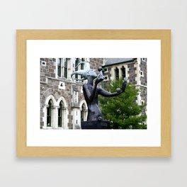 The Juggler Framed Art Print
