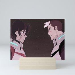 Keith VS Shiro Mini Art Print