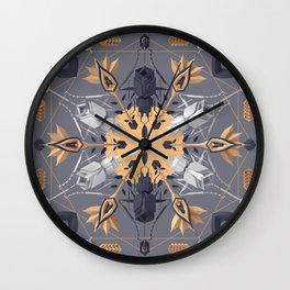 Ms. Gloriosa Y Wall Clock