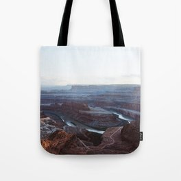 Sunset at Deadhorse Point State Park Tote Bag