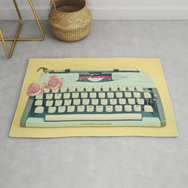 The Typewriter Rug
