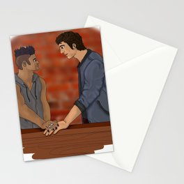 Malec on the Balcony Stationery Cards