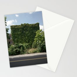 Abandoned Apartment Building Stationery Cards