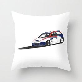Colin McRae / Focus WRC Throw Pillow