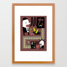 Punx Rox Framed Art Print