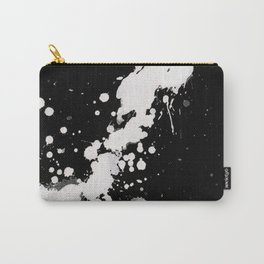 Ink splats black Carry-All Pouch