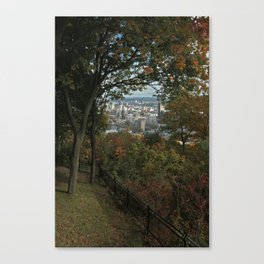Montreal Peep Hole Canvas Print