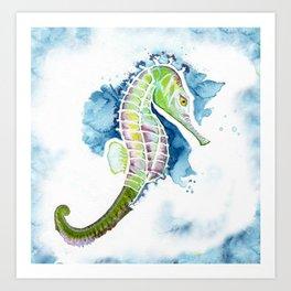 Seahorse (caballito de mar) Art Print