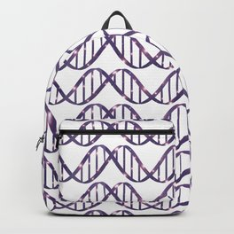 Universe in DNA Pattern Backpack