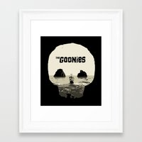 goonies Framed Art Prints featuring THE GOONIES by Rocky Rock