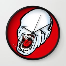 Screamer Red Wall Clock