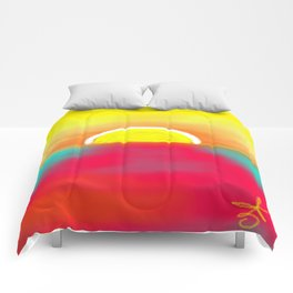 HOT SUNSET Comforters
