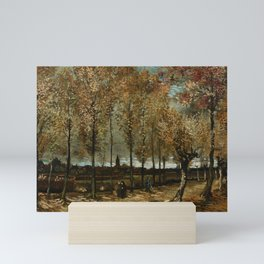 Vincent Van Gogh Poplars Near Nuenen Mini Art Print
