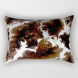 Neo animalic cow milky print Rectangular Pillow