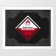 Kemical Art Print