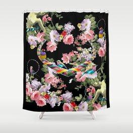 Hoop Love Shower Curtain