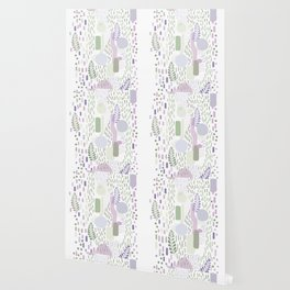 Close to Nature - Simple Doodle Pattern 1 #handdrawn #pattern #nature Wallpaper