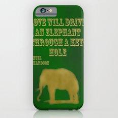 Elephant Love iPhone 6s Slim Case