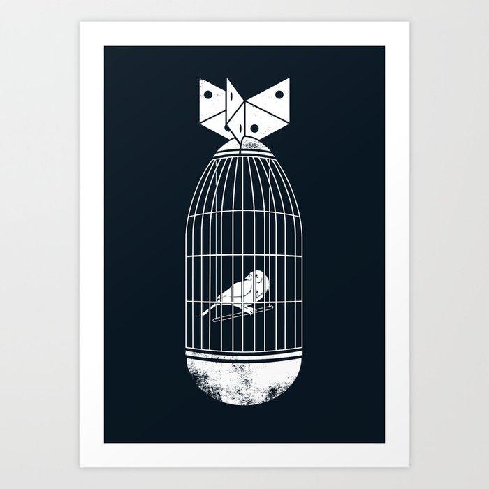war prisoner Art Print