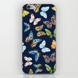 Butterfly Pattern 03 iPhone Skin