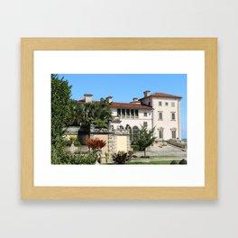 A Villa In Italien Style Framed Art Print