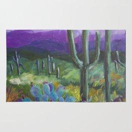 Dusk in the Desert Rug