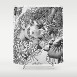 I Will Be There Once More Shower Curtain