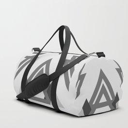 Abstract geometric line design Duffle Bag