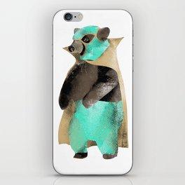 Luchador Bear iPhone Skin