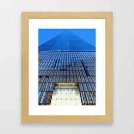 World Trade Sunset Framed Art Print