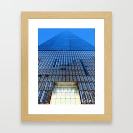 World Trade Sunset Framed Art Print