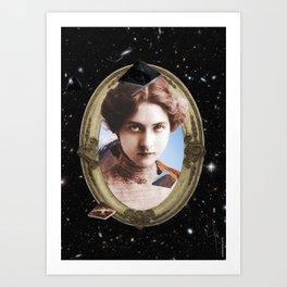 cosmic girl #3 Art Print
