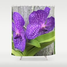 Tree Orchid Shower Curtain