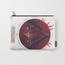 Mountain of Madness (red) Carry-All Pouch