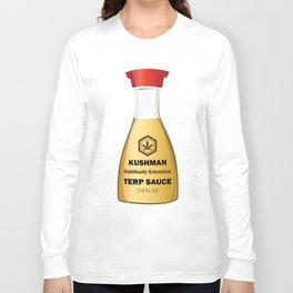 Kushman Terp Sauce Design by Outlet710.com Long Sleeve T-shirt
