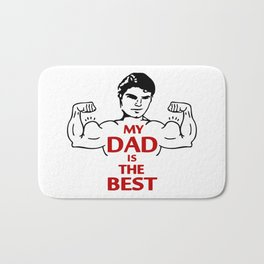 My Dad is the Best Bath Mat
