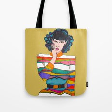 What is she thinking? Tote Bag