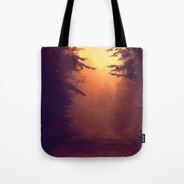 One Foggy Morning Tote Bag