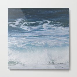 Ocean waves from the depths of the stars Metal Print