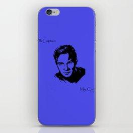 Oh Captain, My Captain-Kirk iPhone Skin
