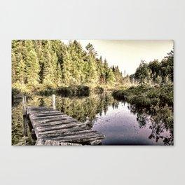Reflective Passage Canvas Print